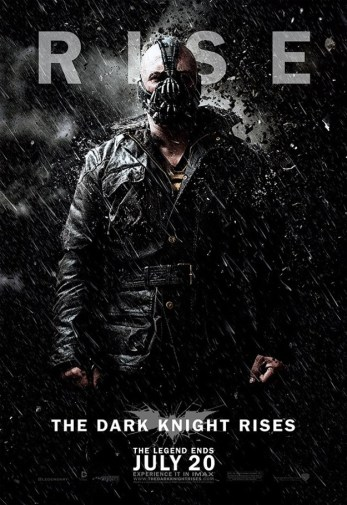 Tres nuevos pósters de The Dark Knight Rises | Bane