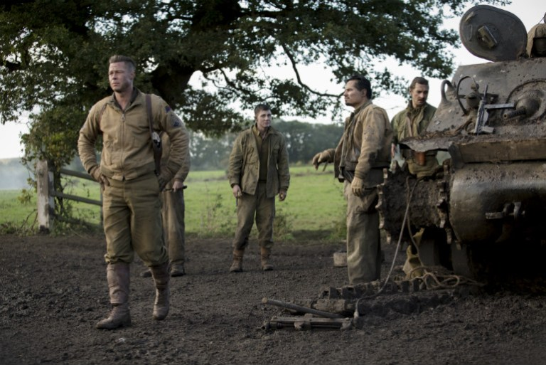 Fury | Tráiler y póster, War Never Ends Quietly