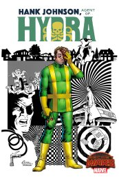 HANK JOHNSON AGENT OF HYDRA #3 VARIANT