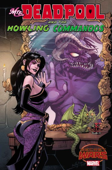 MRS. DEADPOOL AND THE HOWLING COMMANDOS #2