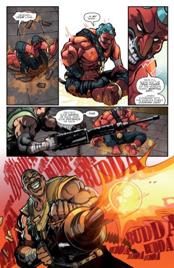 Street Fighter X GI Joe #1