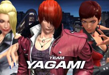 El equipo Yagami en The King of Fighters XIV se conforma por Iori, Vice y Mature.