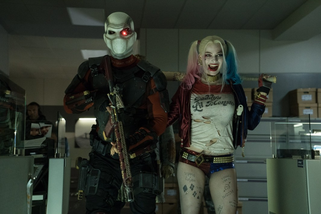 Deadshot (Will Smith) y Harley Quinn (Margot Robbie).