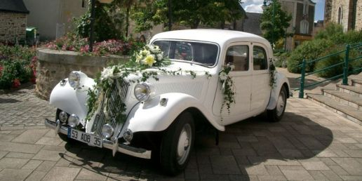 Citroën Traction blanche