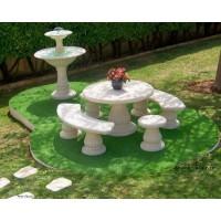 salons de jardin en pierre