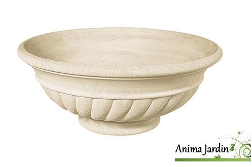 vasque renaissance 70 cm pierre reconstituee coupe sans pied achat