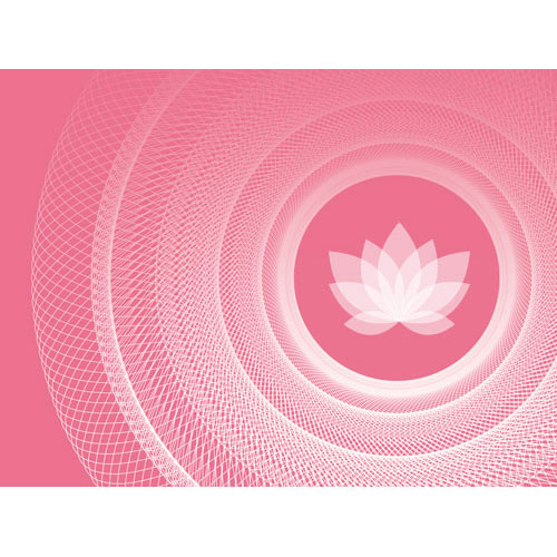 Wandbild like yoga, Lebendigkeit und Klarheit, pink und weiss, Harmonisierung vom Mensch und Raum, Leinwandbild, Feng Shuii-Bild, Yoga, Pink, Wanddeko, Yogastudio, Lotusblume, Lotus,