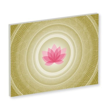 Mandala, Mandala Art Work, grünes Bild, Feng Shui Bild Nordosten, Südosten, Harmonie, Olivgrün, online bilder bestellen. leinwandbild, lotus, meditation, wanddeko, pink, weiss