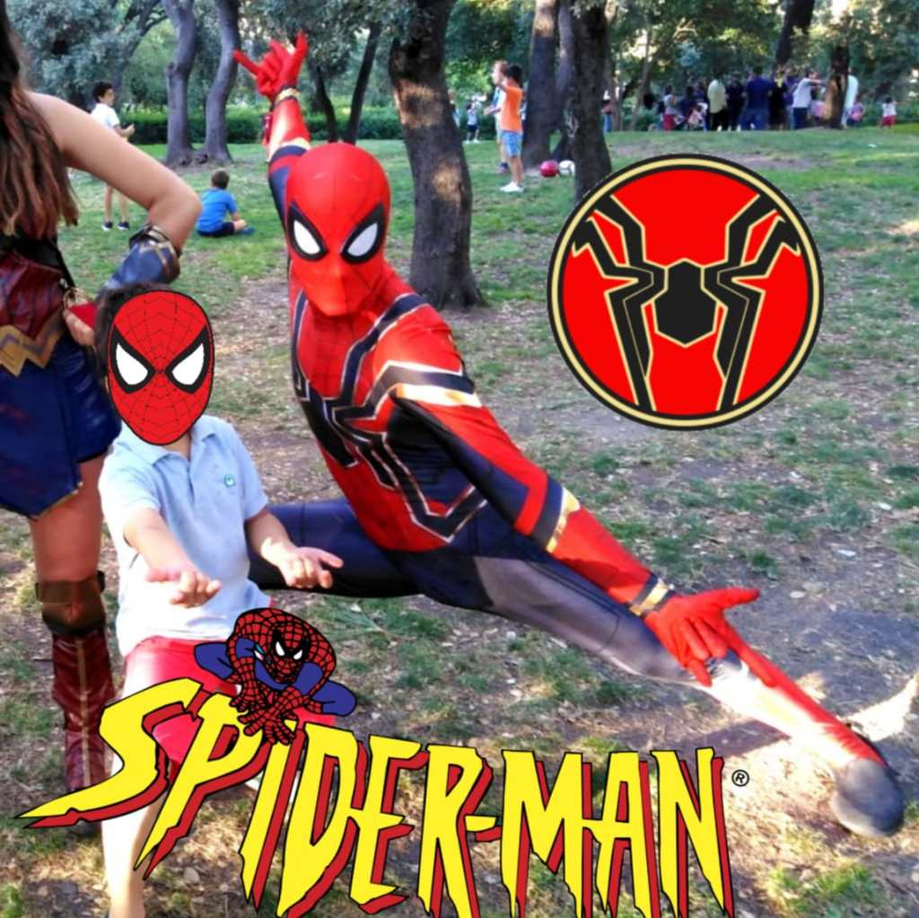 Animaciones con spiderman