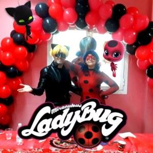 animaciones infantiles de cumpleaños de ladybug