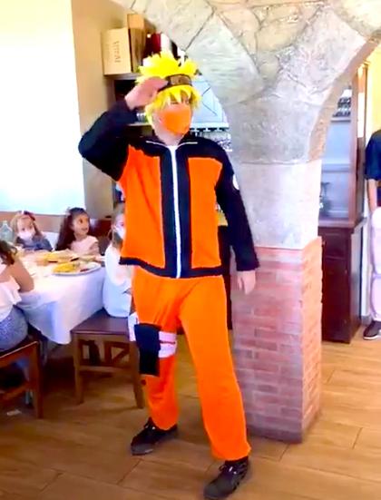 Animación infantil con Naruto