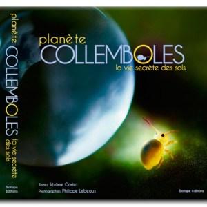 Livre Planète Collemboles, la vie secrète des sols