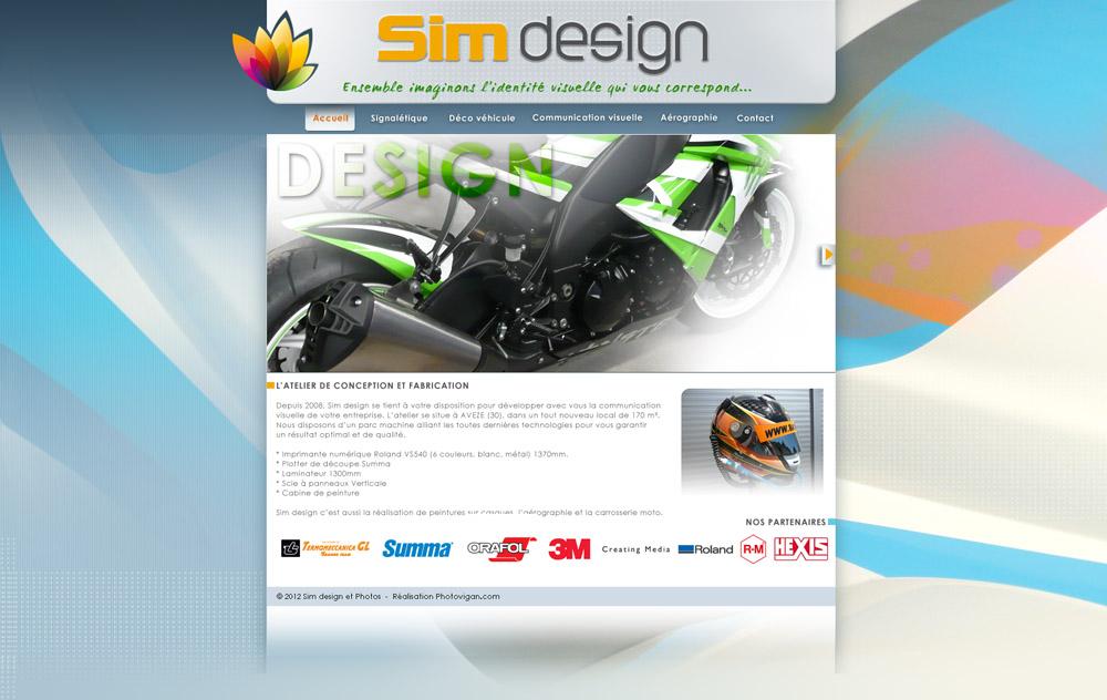 Web design Sim Design