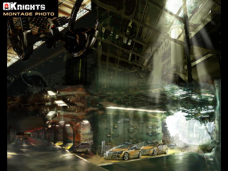 Photomontage jeux vidéo KNIGHTS