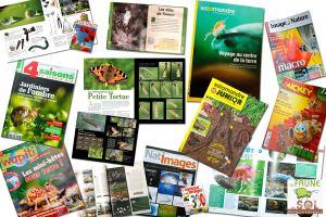 Publications dans magazines spécialisés nature