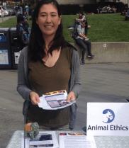 Tabling at Berkeley University