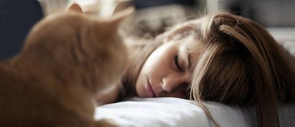 Είναι ασφαλές να κοιμηθείτε με μια γάτα;