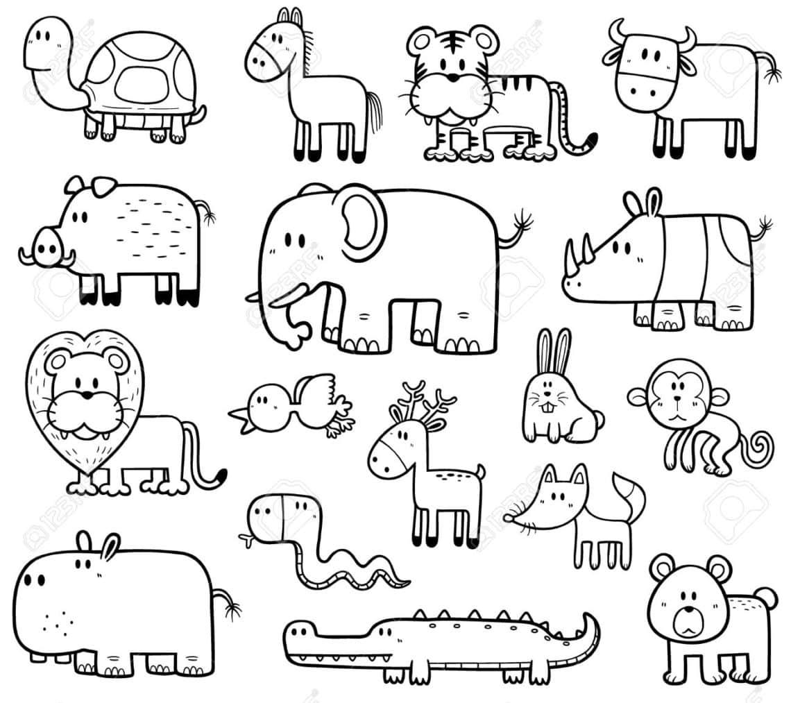 Animales Para Colorear Aprende Sobre Las Especies De La