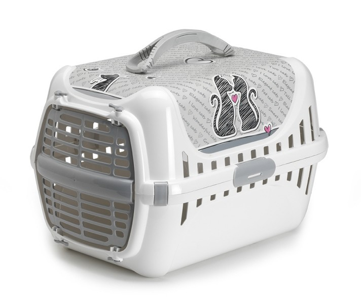 PANIER DE TRANSPORT POUR CHAT CATS IN LOVE Animaloo
