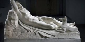 Cani nell'arte: Antonio Canova, Endimione, 1819-1822.