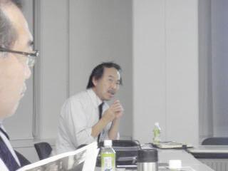 湊会長から開会挨拶とともに現状のお話があった