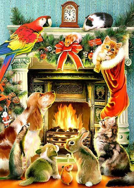 Merry Chrstimas To All The Animals 2 Merry Christmas To All The Animals