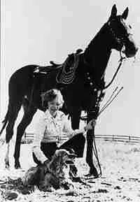 """Velma """"Wild Horse Annie"""" Johnston"""