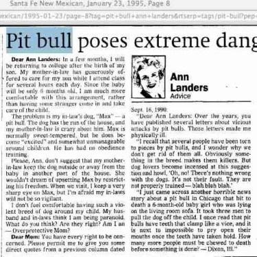 Ann Landers 1-23-95