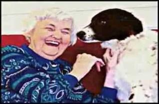 Anna Briggs with doggie