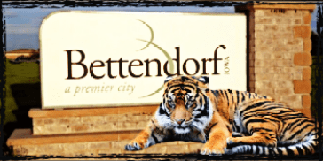Bettendorf and tiger