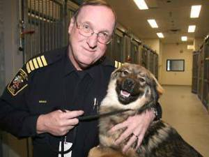 Former Calgary animal control chief Bill Bruce, now consulting for the pit bull advocacy group Animal Farm Foundation.