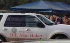 Cherokee principal chief Bill John Baker's car.  (SHARK)