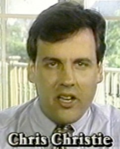 Chris Christie as a young attorney in 1994 got into trouble himself for making false allegations against a political opponent.