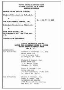 Court filing