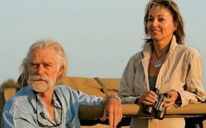 Dereck & Beverly Joubert.  (Great Plains Conservation photo)