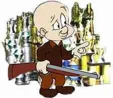 Elmer Fudd, trophy hunter