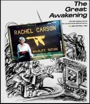Ann Cottrell Free honored Rachel Carson.
