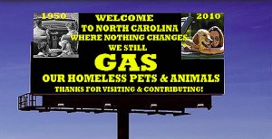Activist opposition to gassing, now mostly replaced by injectible euthanasia, accelerated in North Carolina circa 2010.