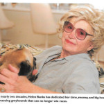 Helen Banks,  87,  founder of Second Chance for Greyhounds