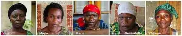 Ranger widows assisted by the Virunga Fallen Rangers Fund. (VFRF photo)