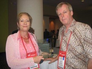 World Animal Net cofounders Janice Cox and Wim de Kok. Both are former WSPA regional directors.