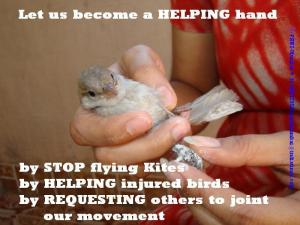 Let us become a HELPING hand