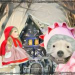 In our time, a bonneted pit bull ate Grandma & Little Red Riding Hood