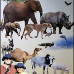 Merritt and Clifton with animals2