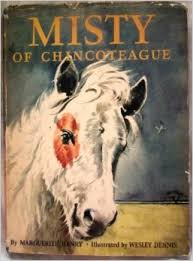 Misty of Chincoteague, by Marguerite Henry (1947) made the Assateague horses famous.
