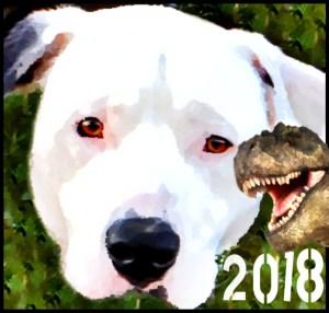 Pit bull & T-rex, 2018