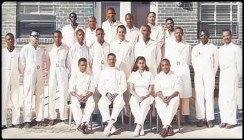 Tuskegee Institute vet grads 1949