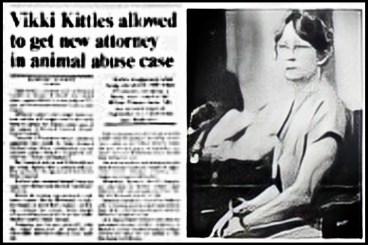 Vikki Kittles on trial for hoarding