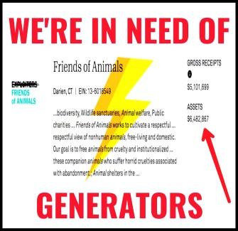 FoA needs generators