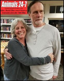 Beth & Merritt, library